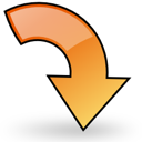 object, right, rotate icon