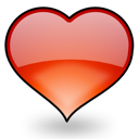 bookmark, heart, love icon