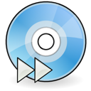 dev, cdrom, audio icon