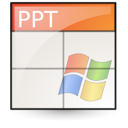 microsoft, powerpoint, ppt, presentation icon