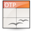 opendocument presentation, template icon