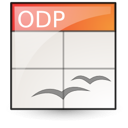 opendocument presentation icon