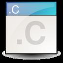 c, text icon