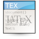 tex, text icon