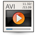 avi, msvideo, video icon