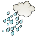 showers, weather icon