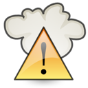 alert, severe, weather icon