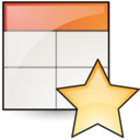 new, presentation icon