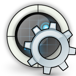 gear, radar, settings icon