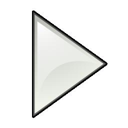 arrow, left, next, play, triangle icon