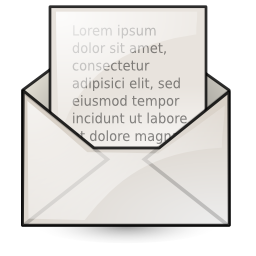mail, mark, read icon