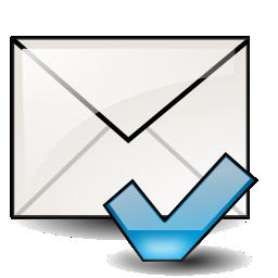 mail, mark, unread icon