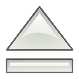 eject, media icon