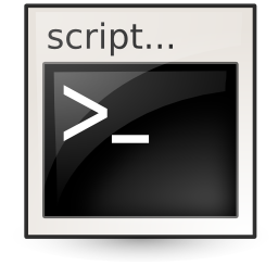 application, shellscript icon