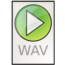 audio, wav icon