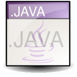 java, text icon