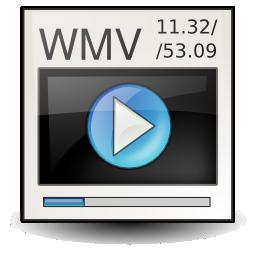 ms, video, wmv icon