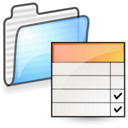 folder, properties icon