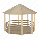 alcove, entertainment, equipment, gazebo, park, rest, shelter icon