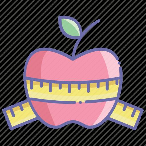 apple, book, dessert, food, fruit, logo icon