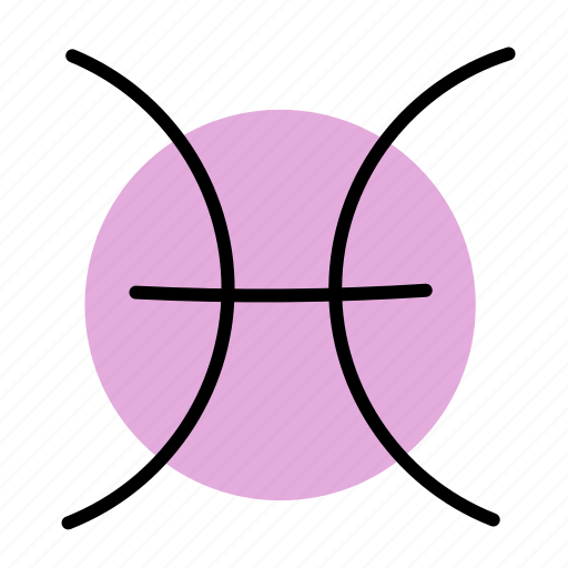 pisces, zodiac icon