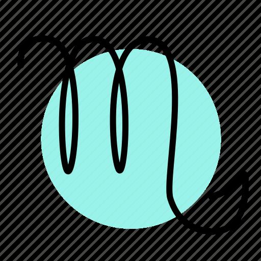 scorpio, zodiac icon