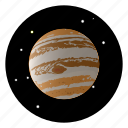 astronomy, jupiter, planet, space, universe