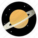 astronomy, planet, saturn, science, space, universe
