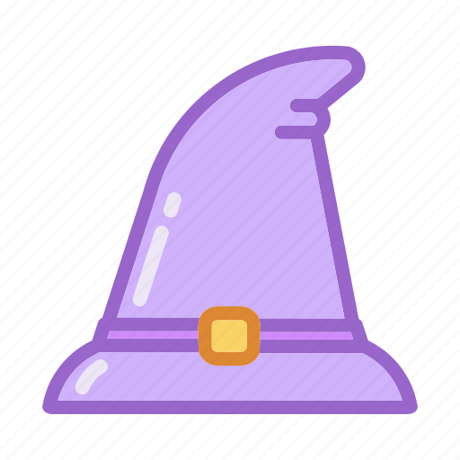 Accessories, hair, halloween, hat, magic, witch, wizard icon - Download on Iconfinder