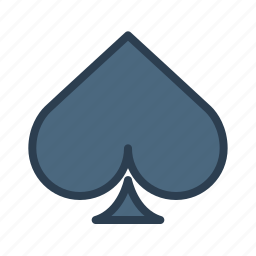 cards, casino, gambling, game, play, spade, suit icon