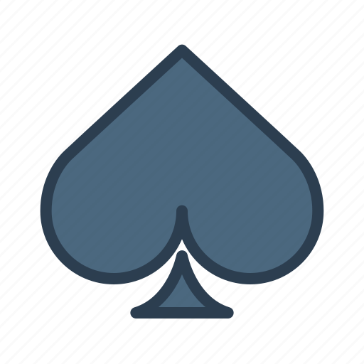 cards, game, spade, suit icon