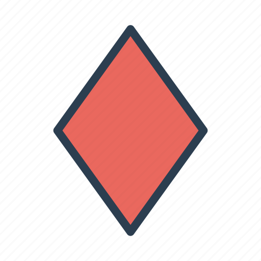 cards, casino, diamond, gambling, game, play, suit icon