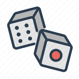 casino, craps, dice, gamble, gambling, game, play icon