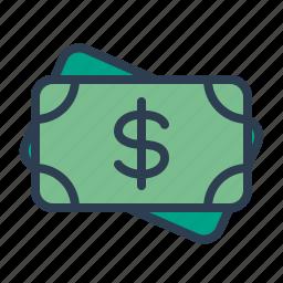banknote, cash, casino, dollar, earnings, money, win icon