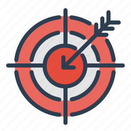 aim, casino, darts, goal, leisure, shoot, target icon