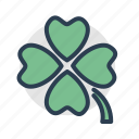 casino, clover, luck, trifoil icon