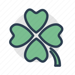 casino, clover, gambling, luck, machine, slot, trifoil icon