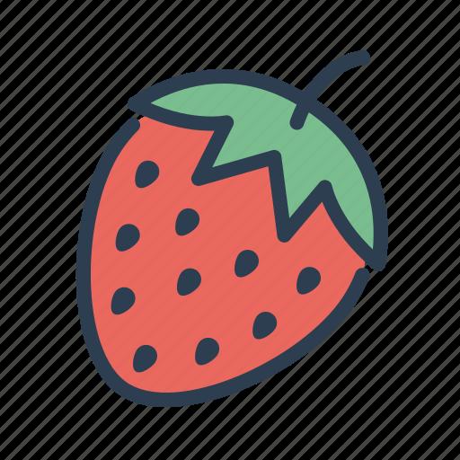 casino, fruit, gambling, game, machine, slot, strawberry icon