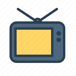 communication, media, news, screen, show, television, tv icon