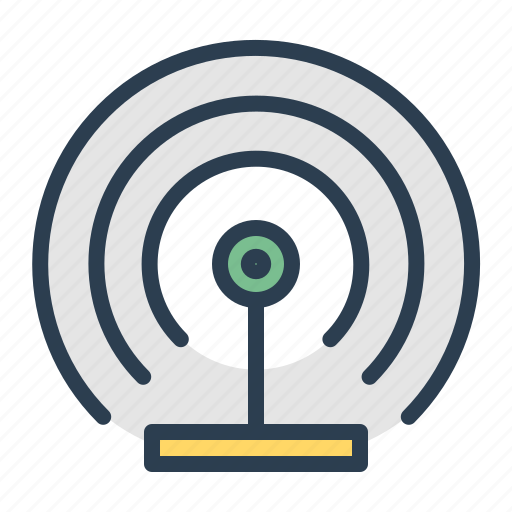 broadcast, communication, radio, signal, tower, transmission, wifi icon