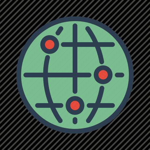 communication, connection, internet, net, network, technology, web icon