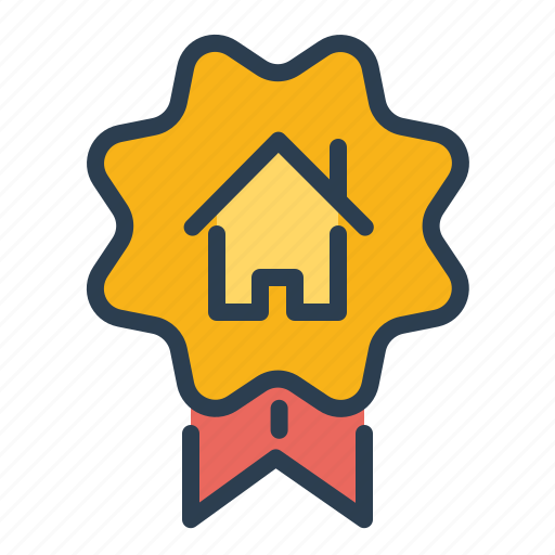 apartment, award, best, quality, real estate, realtor, top seller icon