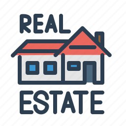 architecture, building, construction, home, house, property, real estate icon