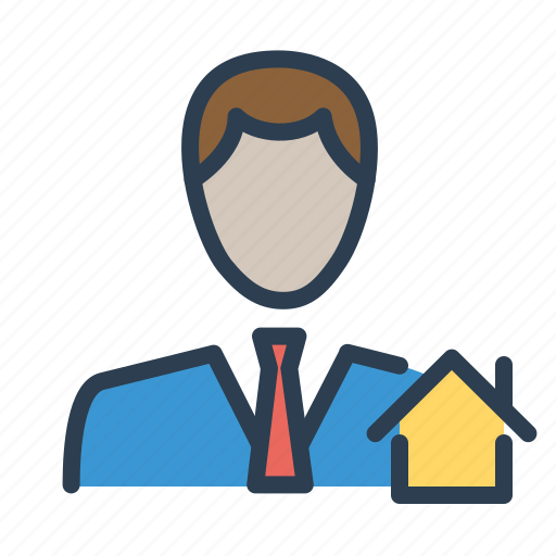 agent, consultant, real estate, realtor icon