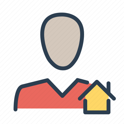 agent, building, consultant, house, mortgage, real estate, realtor icon