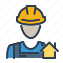 agent, builder, consultant, worker icon