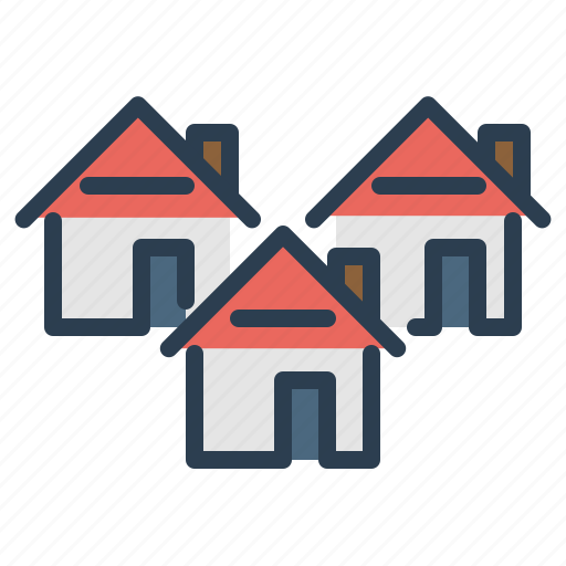 apartment, buildings, construction, home loan, houses, property, real estate icon