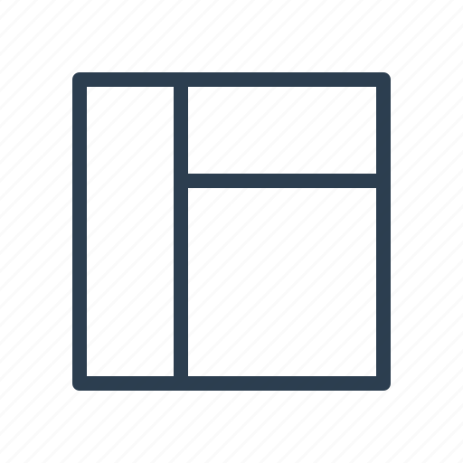 frame, grid, interface, layout, workspace icon