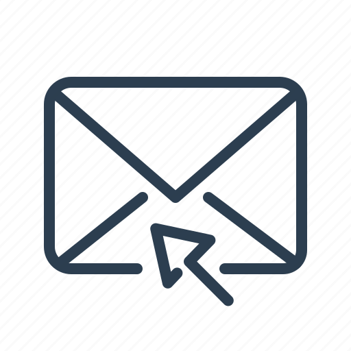 click, coursor, email, envelope, letter, mail, message icon