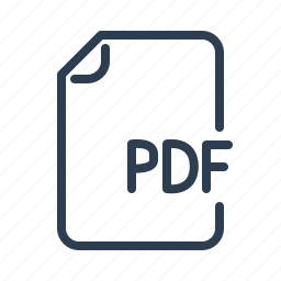adobe, document, extension, file, format, page, pdf icon
